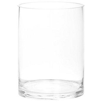 Vase en verre, rond, 20 cm
