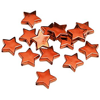 Sternperlen, rot, 1,5 cm, 24 Stück