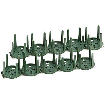 Supports pour composition florale, 3 cm Ø, 10 pièces