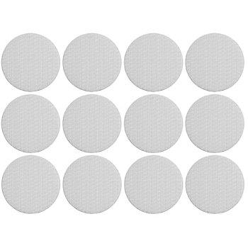 buttinette Klettpunkte, selbstklebend, weiß, 2,5 cm Ø, Inhalt: 12 Stück