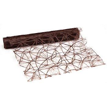 Tischband, dunkelbraun, 30 cm, 5 m