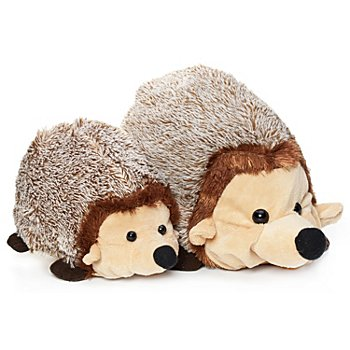 Peluches à rembourrer 'couple de hérissons'