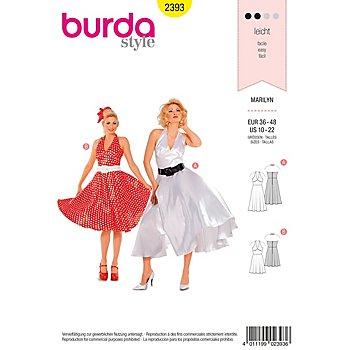 burda Schnitt 2393 'Marilyn-Kleid'