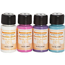 buttinette Stoffmalfarben-Set 'Trend', 4x 50 ml