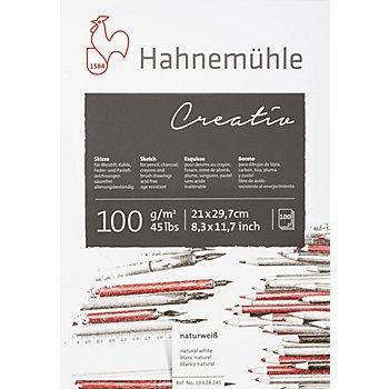 Hahnemühle Skizzenblock, DIN A4, 100 Blatt