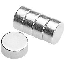 Extra starke Magnete, 6 mm Ø, 10 Stück