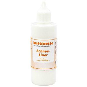 buttinette Schnee-Liner, 85 ml