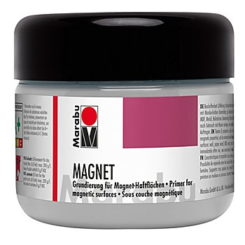 Marabu Magnetfarbe, grau