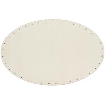 Hochwertiger Korbboden, oval, 29 x 19 cm