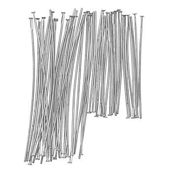 Stifte-Set, 50x 50 mm, 50x 70 mm, silber