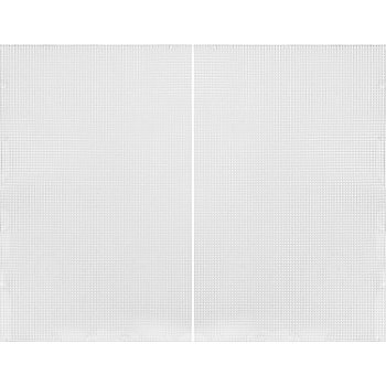 Plastik-Stramin im 2er-Pack, je 34 x 27 cm
