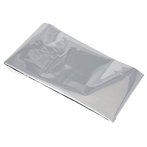 Image of Beschriftungsfolie, silber, 5 x 10 cm, 5 Stück