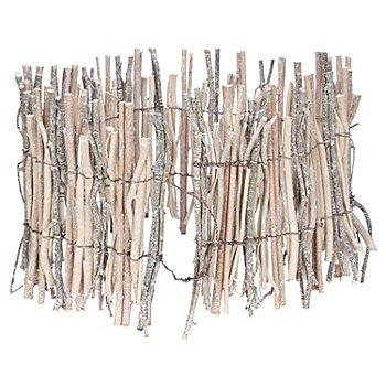Déco murale en branches, 100 x 20 cm