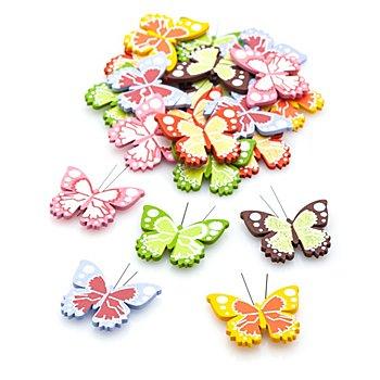 Streuteile 'Schmetterlinge', 24 Stück