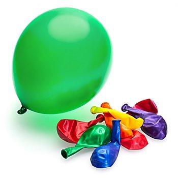 Luftballons 'Metallic', bunt, 9 Stück