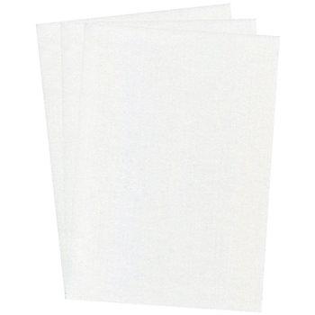 Papier en nacre, blanc, 21 x 29,7 cm, 10 feuilles