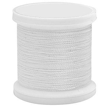Fil pour enfiler des perles, blanc, 0,2 mm, 100 m
