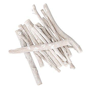 Treibholzstäbe, weiß, 100 g
