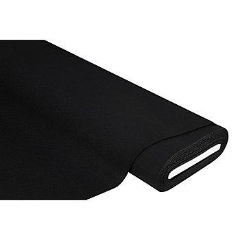 Feutrine épaisse, noir, 4 mm