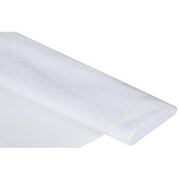 Tissu organza, blanc