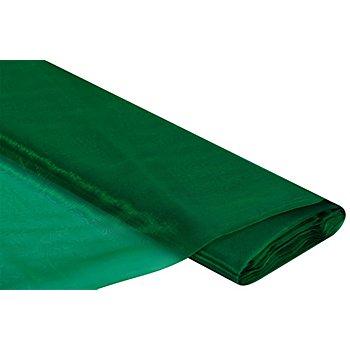 Tissu organza, vert jade
