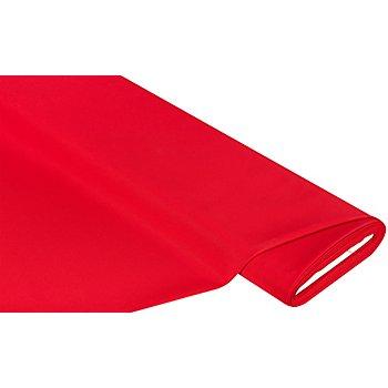 Tissu polyester uni, rouge vif