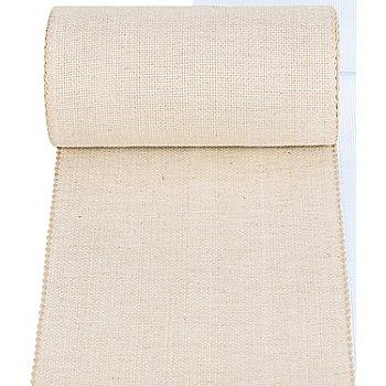 Zweigart Aida-Stickband, natur, 19 cm
