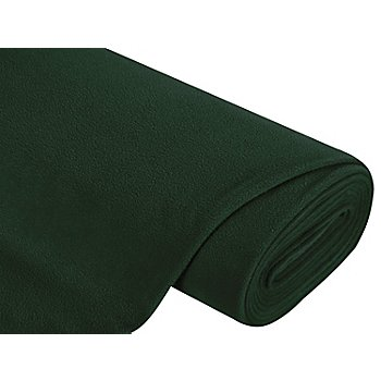Tissu polaire, vert foncé