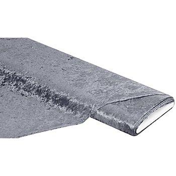 Panne de velours, gris