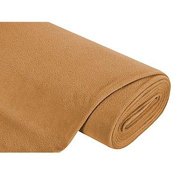 Fleecestoff, camel
