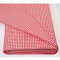 """Tissu coton à carreaux vichy """"Mona"""", rouge/blanc, 3 x 3 mm"""