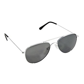 Pilotenbrille, silber