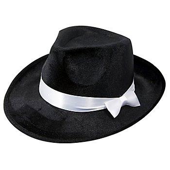 Edler Samthut 'Mafioso schwarz'