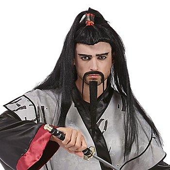 Perücke Samurai