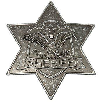 Etoile de shérif, vieil argent