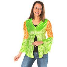 Hippie Bluse, neongrün