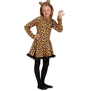 Leoparden-Girl Kostüm für Kinder