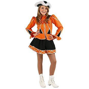 Garde Kostüm für Kinder, orange/schwarz