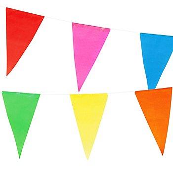 Guirlande à fanions, multicolore