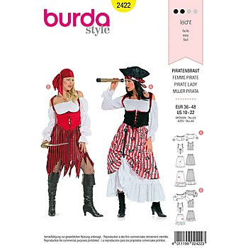 burda Schnitt 2422 'Piratenbraut'