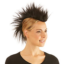 Irokesen-Haarteil, schwarz