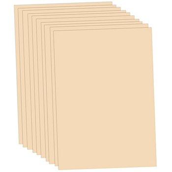 Tonzeichenpapier, puder, 50 x 70 cm, 10 Blatt