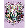 """Sequin Art Paillettenbild """"Elefant"""", 25 x 34 cm"""