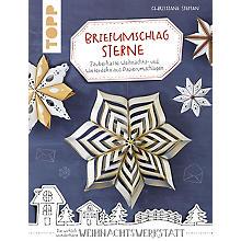 Buch 'Briefumschlag Sterne – zauberhafte Weihnachts- und Winterdeko aus Papierumschlägen'