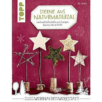 Buch 'Sterne aus Naturmaterial – Weihnachtliche Deko aus Zweigen, Beeren, Holz & Draht'