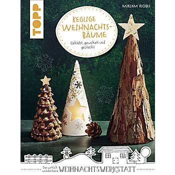 Buch 'Keglige Weihnachtsbäume – Geklebt, gewickelt und gesteckt'