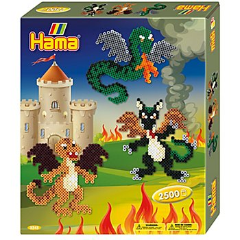 Hama Bügelperlen-Set 'Drachen'