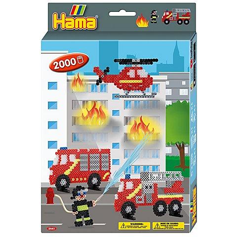 "Image of Hama Bügelperlen-Set ""Feuerwehr"""