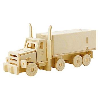 Holzbausatz Lastwagen, 19 x 8 cm