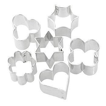 FIMO Ausstechformen, 6 Stück, 2 - 3 cm